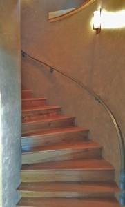 faux staircase Whittiker